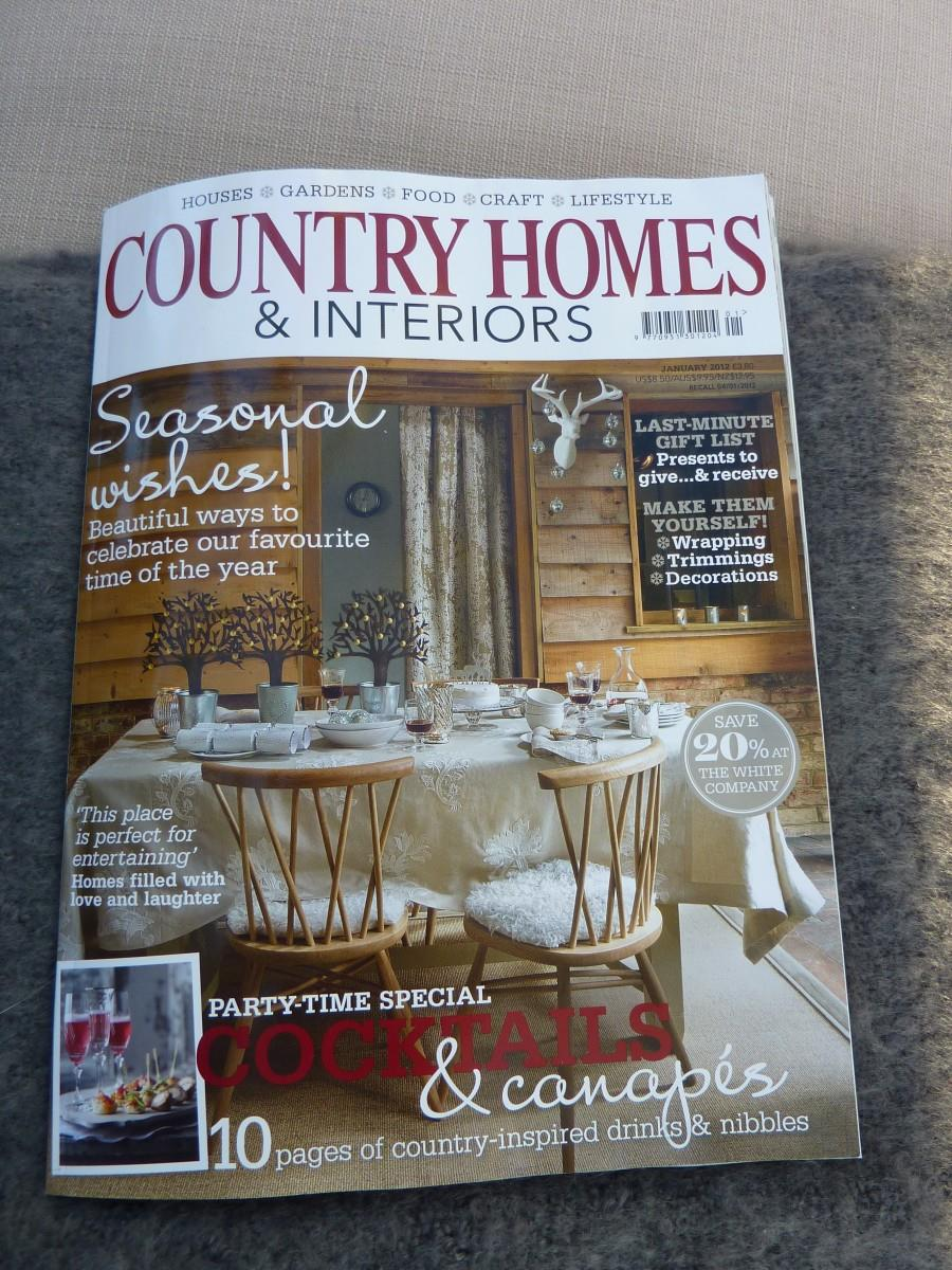 country homes and interiors magazine busybee