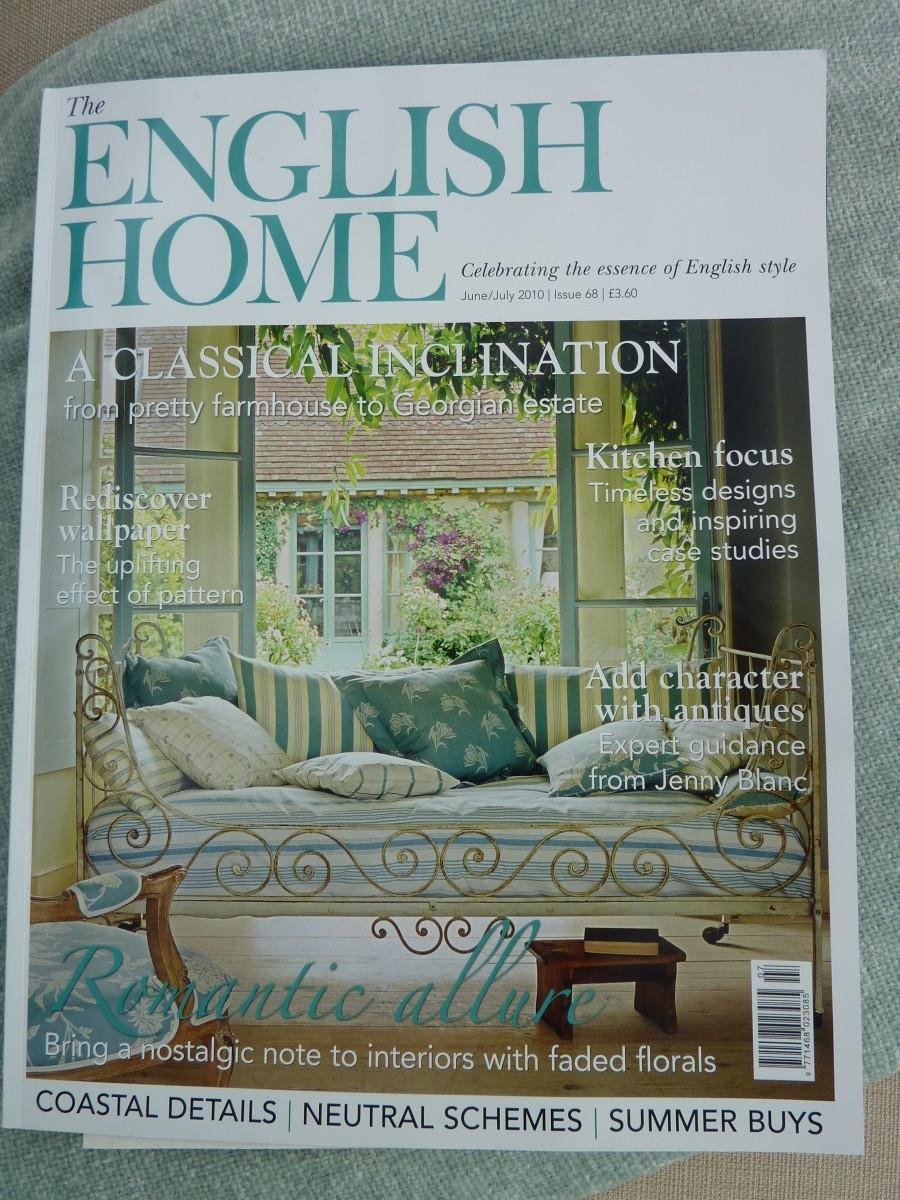 The english home magazine busybee for English house magazine